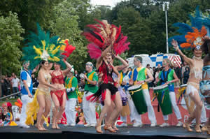 Nottingham School of Samba with Chica Chica Boom